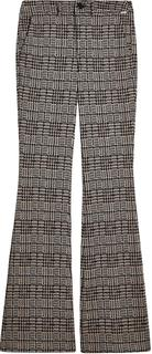 houndstooth flared pantalon plaid wf1504-j1661-s9218