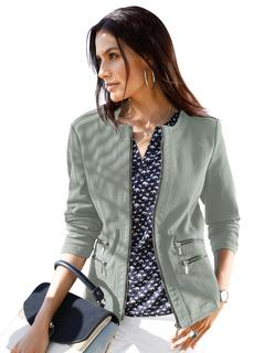 blazer in jeans-look