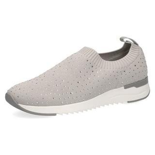 Slip-on sneakers met strassteentjes