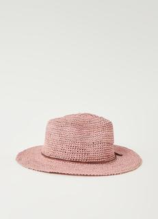 Celery hoed van raffia