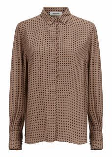 Camel print blouse Lohan