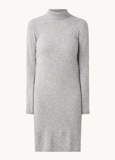 Fijngebreide midi jurk van wol