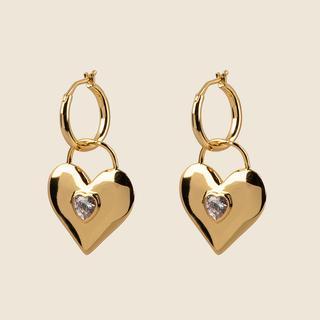 Earrings Le Romantique - White
