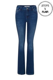 Dames Bootcut jeans blauw