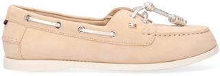 Beige Instappers Essential Boat Shoe Wmns