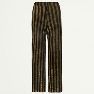 Lurex striped pantalon