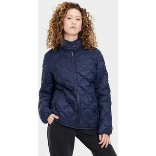 Selda Packable Quilted Jas voor Dames in Navy Blue, maat S   Nylon