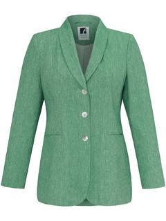 Blazer met lange mouwen en 3-knoopssluiting groen