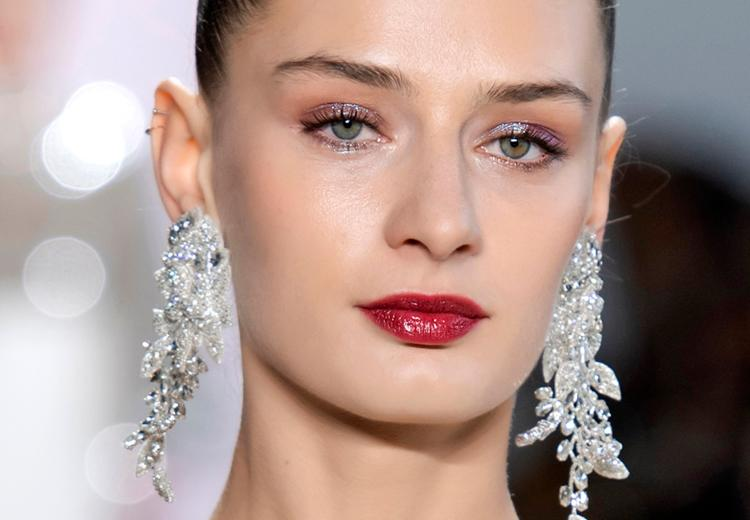 Make-up inspiratie voor de digitale kerstborrel