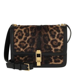 Crossbody bags - Carre Leo Crossbody Bag Leather in bruin voor dames