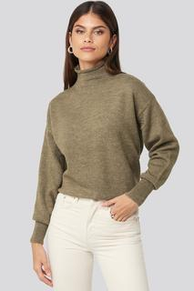 Turtleneck Oversized Knitted Sweater