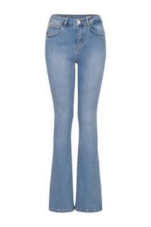 Dames Jeans 'Felize' flared blauw