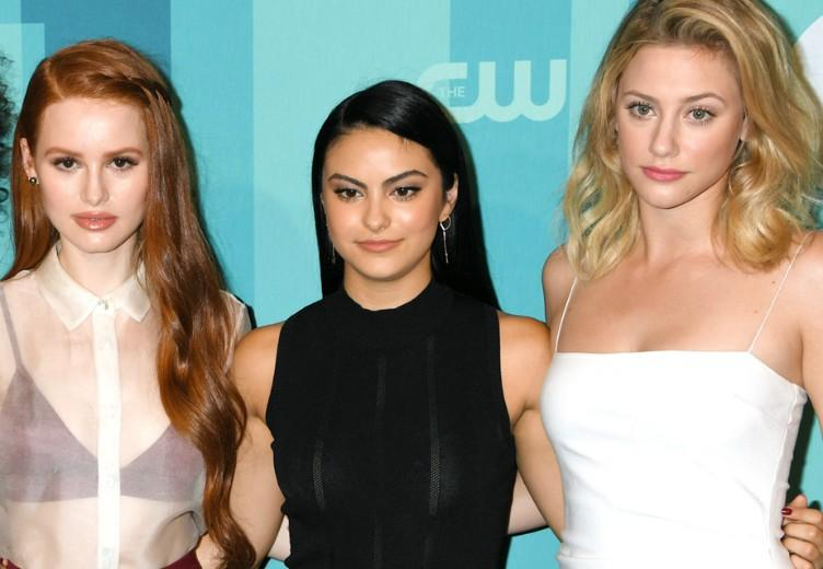 Riverdale-sterren Lili, Camila en Madelaine samen op TikTok