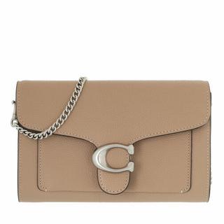 Crossbody bags - Tabby Chain Clutch in fawn voor dames