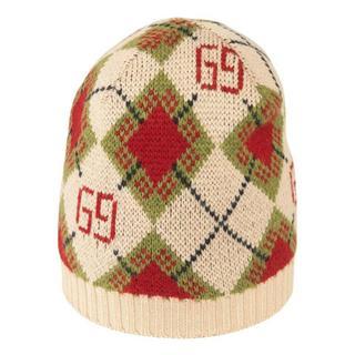 Children's GG argyle wool hat