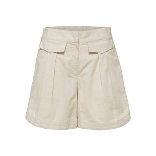 high waist short CECILIE zand