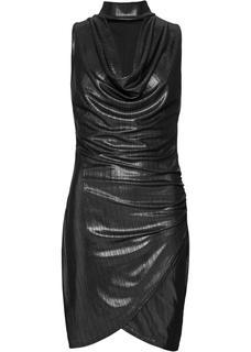 Dames jurk zonder mouwen in zwart