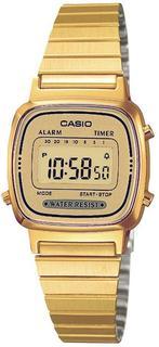 Collection LA670WEGA-9EF - Horloge - 24.6 mm - Staal - Goudkleurig