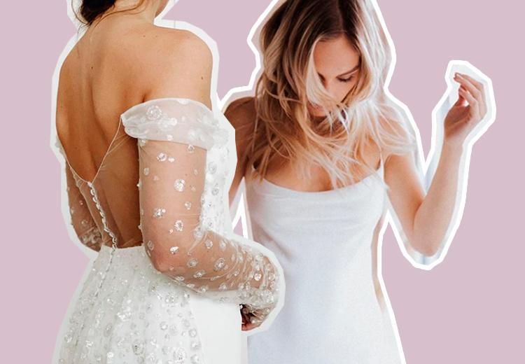 Dit zijn de mooiste bruidsmode trends van 2021