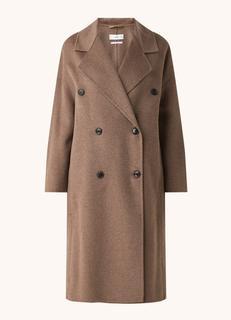 Picarol mantel in wolblend met steekzakken