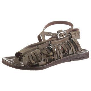 sandalen RAMOS met franje gegarneerd