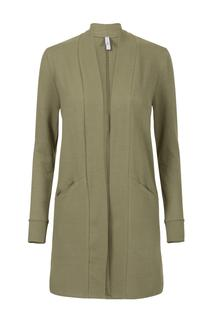 Dames Vest mêlée groen