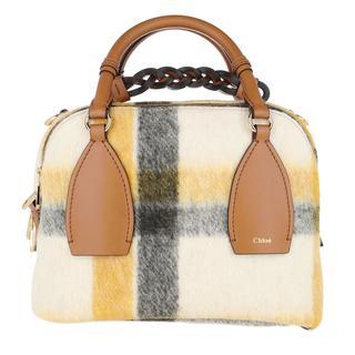 Bowling Bags - Daria Medium Bowling Bag Leather Autumnal Brown in bontgekleurd voor dames - Gr. Medium