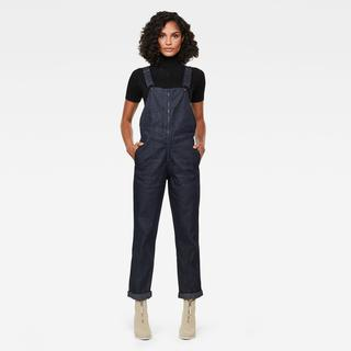 Lintell Denim Overal - Straight Fit - Taillehoogte Hoog