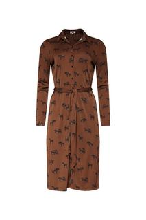 Dames paarddessin jurk