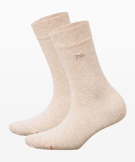 Dames Sokken Style damessokken, beige mel,