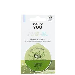 Masks Verzachtend Gelmasker - Green Tea & Aloe Vera