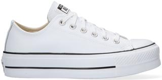 Witte Lage Sneakers Chuck Taylor All Star Lift