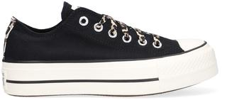 Zwarte Lage Sneakers Chuck Taylor All Star Lift Ox