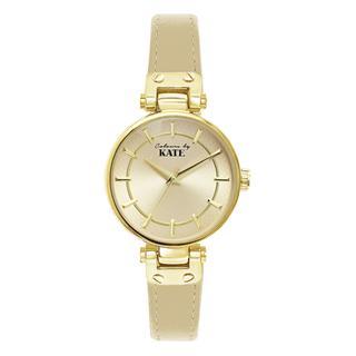 Colours by Kate horloge met een goudkleurige band