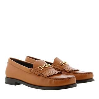Loafers & ballerina schoenen - Luco Triomphe Loafer Leather in bruin voor dames