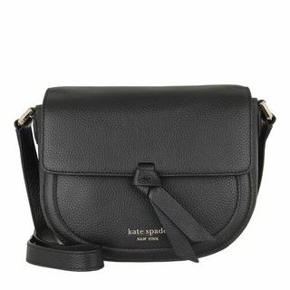 Satchels - Medium Saddle Bag in zwart voor dames