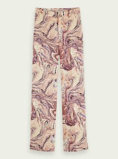 Edie – High-rise broek met wijde pijpen