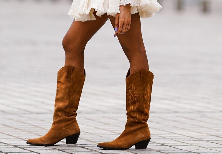 24x de mooiste bruine cowboylaarzen voor de herfst
