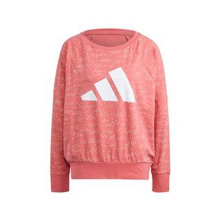 Performance sportsweater lichtroze