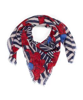 Sjaal Blauw 93A07-02235203/2