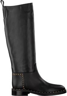 Zwarte Hoge Laarzen B4253