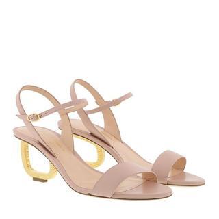 Sandalen - Silhouette Mid Heel Sandal in roze voor dames
