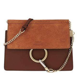 Cross Body Bags - Faye Mini Flap Shoulder Bag Classic Tobacco in bruin voor dames - Gr. Mini