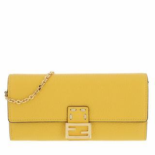 Pochettes - Pouch in geel voor dames
