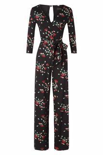 70s Farah Matcha Jumpsuit in Black