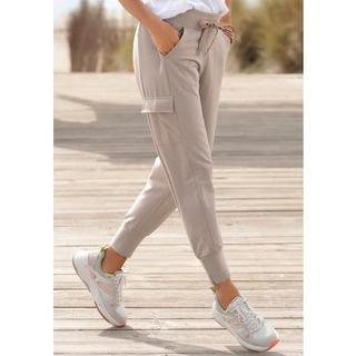 joggingbroek met zakken opzij op de pijp
