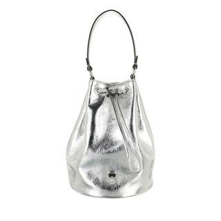 Bucket bags - K/Ikonik 3d Pin Bucket in zilver voor dames