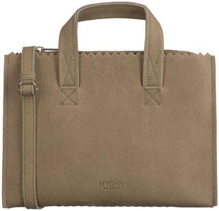 Taupe Handtas My Paper Bag Handbag Mini