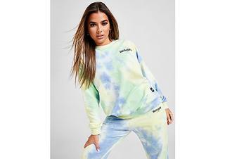 Tie Dye Crew Sweater Dames
