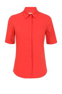 Dames Blouse overhemd rood